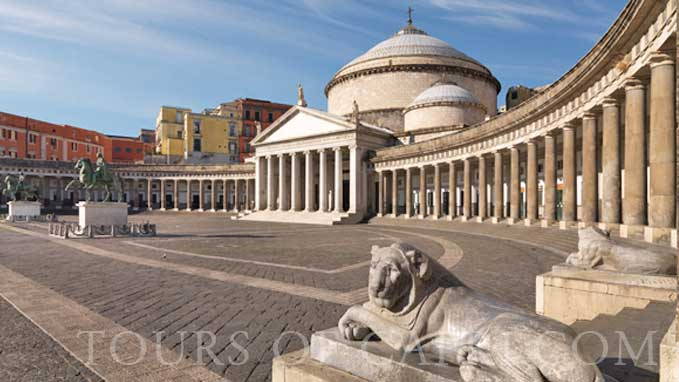Visit Piazza Plebiscito, one of Europe's most beautiful squares, include in the tour
