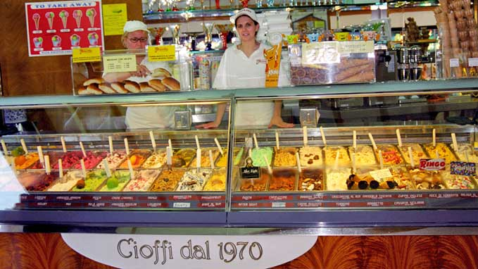 Meet gelato's artisans , learn how they make it and taste all the flavors