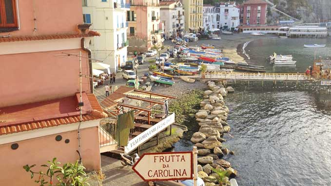 This is a walking tour through the old streets of Sorrento down to the sea shore and the historic center.