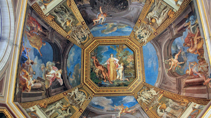 See the highlights of the Vatican including the Gallery of Candelabra